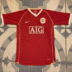 VTG '96 Nike Manchester United Authentic Jersey M
